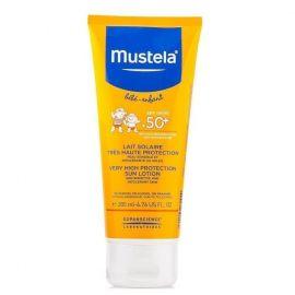 MUSTELA SUN LOTION SPF50+ 200ml