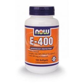 Nowfoods E-400IU + SELENIUM 100mcg 100sgels