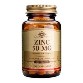 SOLGAR - ZINC GLUCONATE 50mg tabs 100s