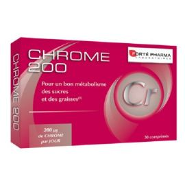 Forte Pharma Chrome 200-ΧΡΩΜΙΟ-30tabs