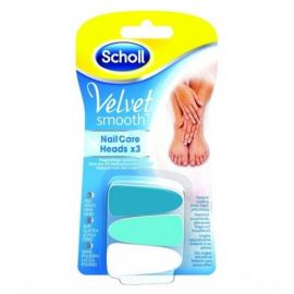 Scholl Velvet Smooth Nail Care Heads x 3 ΑΝΤΑΛΛΑΚΤΙΚΑ