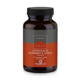 TERRANOVA Astragalus, Elderberry & GarlicComplex (Best Seller) - 50 capsules