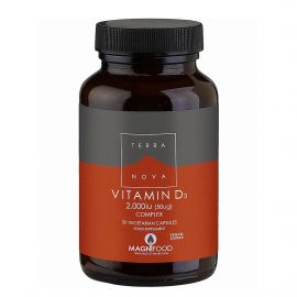 TERRANOVA Vitamin D3 2000 iu Complex - 50 capsules