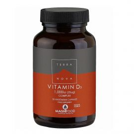 TERRANOVA Vitamin D3 1000 iu Complex - 50 capsules