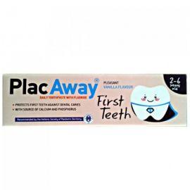Plac Away First Teeth Οδοντοκρεμα Vanilla 50ml