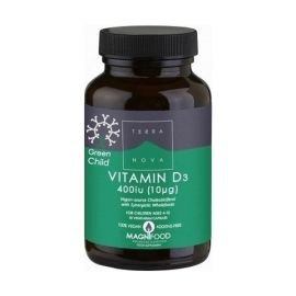 ΤΕRRANOVA Green Child Vitamin D3 400 iu 50caps