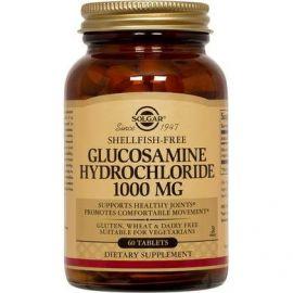 SOLGAR GLUCOSAMINE HCL 1000mg (shellfish-free) tabs 60s