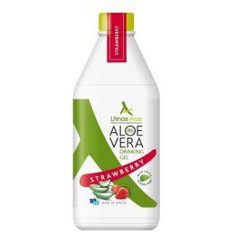 Litinas Aloe Ποσιμο Aloe Vera Gel Φραουλα 1lt