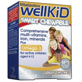 Vitabiotics Wellkid Omega-3 60 chewable tabs