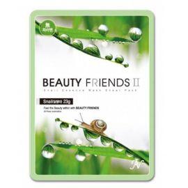 Beauty Friends II Snail Essence Mask ΜΑΣΚΑ ΠΡΟΣΩΠΟΥ ΣΑΛΙΓΚΑΡΙ