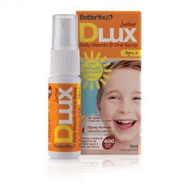 BetterYou DLuxJunior 400IU oral spray 15ml