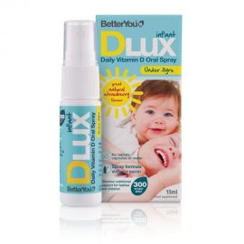 BetterYou DLuxInfant 300IU oral spray 15ml