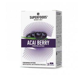 Superfoods Acai Berry Eubias 30 φυτικές κάψουλες