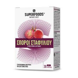 Superfoods ΕΚΧΥΛΙΣΜΑ ΣΠΟΡΩΝ ΣΤΑΦΥΛΙΟΥ 30 caps