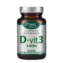 Power Health Classics Platinum Range D-Vit 3 5000 IU 60caps