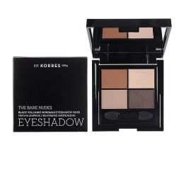 Korres Black Volcanic Minerals Eyeshadow Quad The Bare Nudes 5g