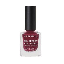 Korres Gel Effect Nail Colour Βερνίκι Νυχιών No74 Berry Addict 11ml