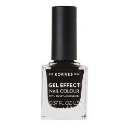 Korres Gel Effect Nail Colour Βερνίκι Νυχιών No76 Smokey Plum 11ml