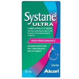 Alcon Systane Ultra Λιπαντικές Οφθαλμικές Σταγόνες 10ml