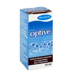 Allergan Optive Lubricant Eye Drops 10ml
