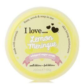 I love... Whipped Sugar Scrub 200ml Lemon Meringue