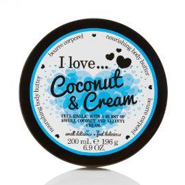 I love body butter Coconut & Cream 200ml
