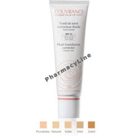 AVENE FOND DE TEINT 02 NATUREL 30ml SPF15