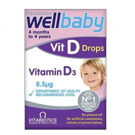 Vitabiotics Wellbaby Vitamin D Drops 30ml