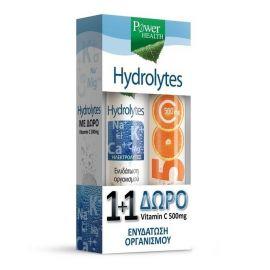 Power Health Hydrolytes 20 eff tablets+Vitamin C 500mg 20 eff t