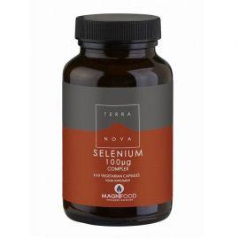 TERRANOVA Selenium Complex 100μg 100 veg tabs