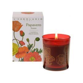 L'Erbolario Papavero Soave Candela Profumata Αρωματικά Κερί Χώρο