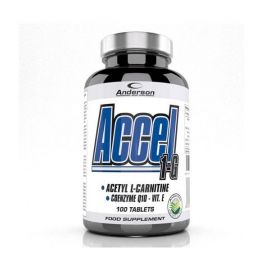 ANDERSON ACCEL 1-G 100CPR ACETYL CARNITINE 120gr
