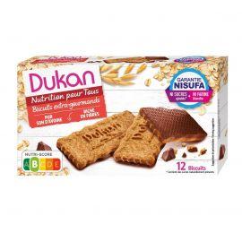 DUKAN Μπισκότα Βρώμης με επικάλυψη σοκολάτας 200γρ