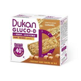 DUKAN Μπάρα Βρώμης GLUCO-D με γεύση καραμέλα 120γρ