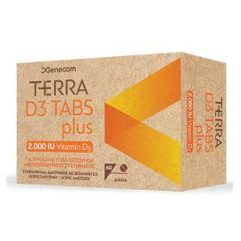 TERRA D3 PLUS 2000IU 60tabs