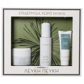 Korres PROMO PACK White Pine Day Cream+Serum+Cleansing