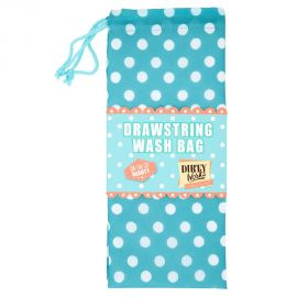 DIRTY WORKS Drawstring Wash Bag