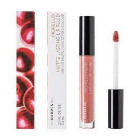 Korres Morello Matte Lasting Lip Fluid 3.4ml 06 Romantic Nude
