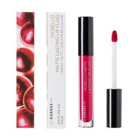Korres Morello Matte Lasting Lip Fluid 3.4ml 29 Strawberry Kiss