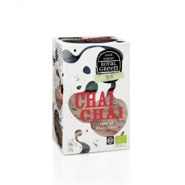 Royal Green Organic Tea Chai Chai 16 tea bags