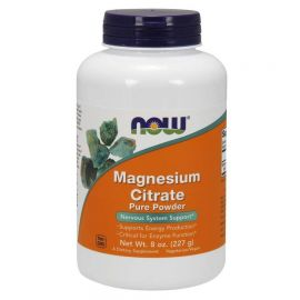 NOW Magnesium Citrate Pure Powder - 8oz. (227g) Veg