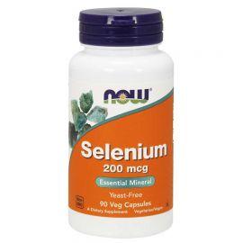 NOW Selenium 200mcg - 90 Vcaps