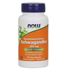 NOWFOODS Ashwagandha Extract 450mg - 90 Vcaps