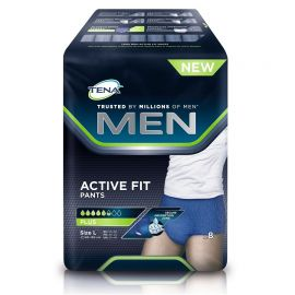 Tena Men Active Fit Pants Large 8pcs