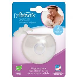 Dr. Brown's Δίσκοι Στήθους Σιλικόνης 2τμχ
