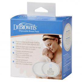 Dr. Brown's Επιθέματα Στήθους Μιας Χρήσης - 30τμχ
