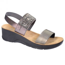 Scholl Shoes Christina Pewter