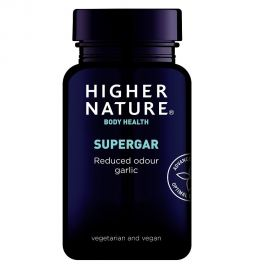 HIGHER NATURE SUPERGAR 8000 GARLIC SUPER STRENGTH 90 v-tabs