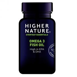 HIGHER NATURE OMEGA 3 FISH OIL ΛΙΠΑΡΑ ΟΞΕΑ - 180 gel-caps