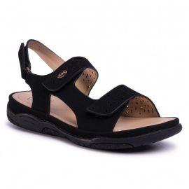 Scholl Shoes ATHENA Black Ανατομικό Πέδιλο